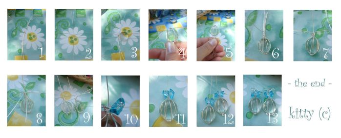 Tutorial Wire wrap alla Kitica by kitica