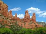 Red Rock and Blue Skies by GlassHouse-1