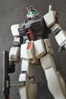 RGM-79D GM COLD DISTRICTS TYPE HGUC by ShiroiZaku
