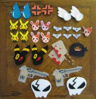 Clips and Magnets by xxx-TeddyBear-xxx
