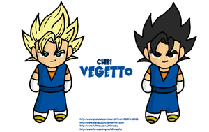 Chibi Vegetto by DBZGuy2010