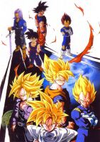 dragon ball z by trunks-ximena