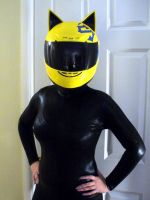 Celty cosplay by lishlitz