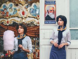 Bioshock Infinite. Elizabeth by M-Rainey