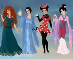 Non/Disney Goddesses - M3 by M-Mannering