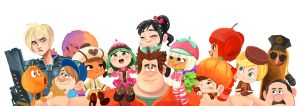 Wreck it Ralph! by miacat7