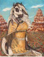 Native Horse Stage3-Commission by stephanielynn