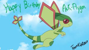 GA: Ask-Flygon Birthday! by Marks-Arts
