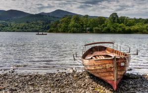 Rowboats on Derwentwater by Punt1971