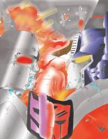 Transformers the battle Color by AccidentProneComics