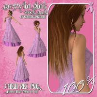 Pretty in Pink by angellella-stock