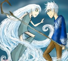 Jack and Aisling by HezuNeutral