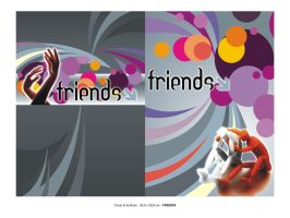cover buku friends by ignra