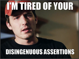Kootra - I'm Tired of Your Disingenuous Assertions by CreatureHub-Laughs