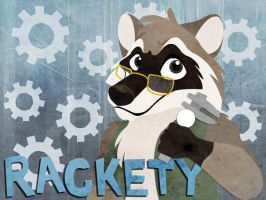 Rackety badge by julianwilbury