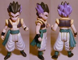 DragonballZ Gotenks custom by pgv