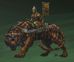 Tora Rider by RedHeretic