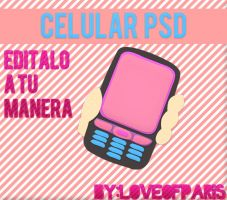 Celular PSD by LoveOfParis