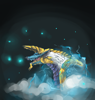 Jinouga/Zinogre by enj0yable