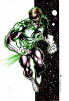 Green Lantern by Cinar