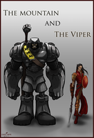 The Mountain and The Viper fanart by 2WinGs2ZioN