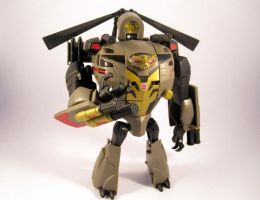 Animated blackout (Robot mode) by scoobsterinc