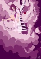 Playing the Melody by RozasChild