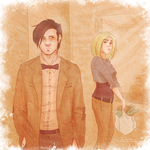 Eleven and Rose: A Passing Glance by Avender