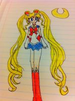 Sailor Moon from SMC by Zorceus