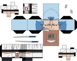 Grimmjow Jaegerjaquez by hollowkingking