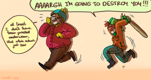 Cartman is dead. by candle-gay