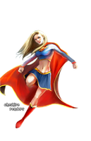 Supergirl Render by cheshire-pops