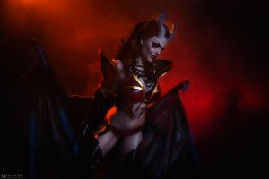 DotA 2 - QoP - Agony awaits! by MilliganVick