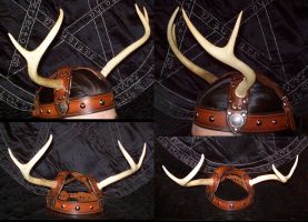 Stag Horned God Headress by Steampunked-Out