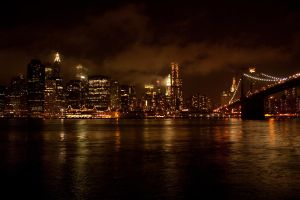 Bridge to Big Apple by Ken-Jones-Imagery