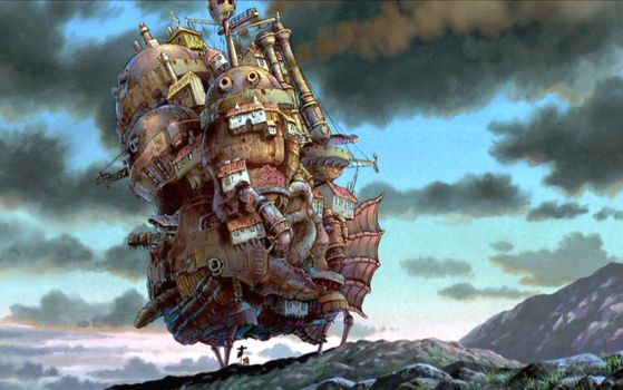 Howl's Moving Castle by D-TAILOR