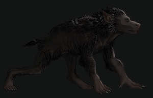 Werewolf by OfficerBadger