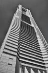 Yokohama Landmark Plaza BW by paulstrife