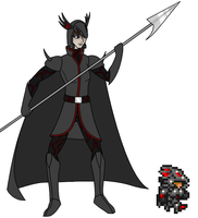 Drycon, the Holy Dragon Knight by The-Thrashy-One