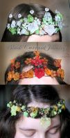 Prima Vera Crowns by blackcurrantjewelry