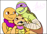 COMMISSION: FAMILY PHOTO! by Mikibaby94