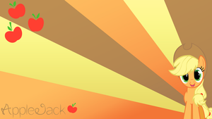 AppleJack Wallpaper by BlueDragonHans