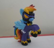 Shadowbolt Rainbow Dash Custom Blind Bag by Xaphriel