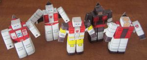 Aerialbots HAKO by aim11