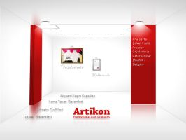 Artikon Web Interface Flash by HalitYesil