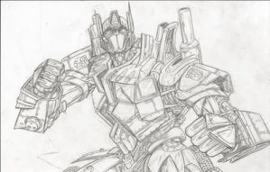 TRANSFORMERS  OPTIMUS PRIME by 1314
