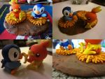 Mystery Duo COMPLETE! by PokeSculpt-a-Mon