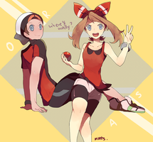 Pokemon: ORAS by redricewine
