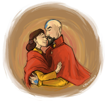 Avatar: Tenzin and Pema by ky-nim