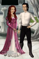 Ariel and Prince Eric by Kailie2122